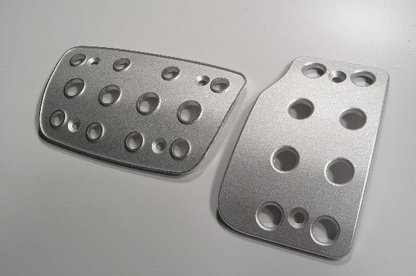 toyota yaris billet pedals - pedal covers