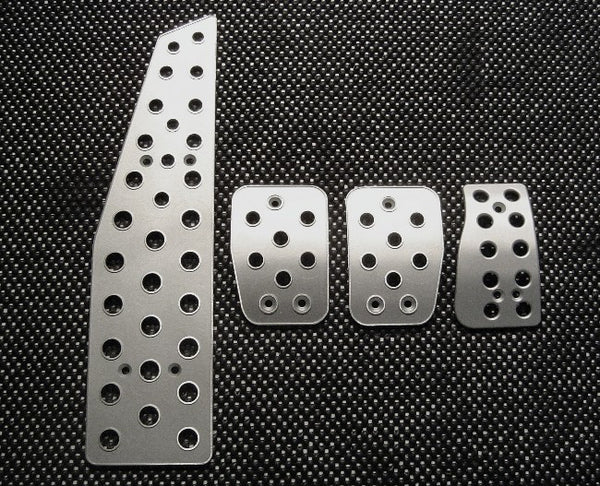 volvo c70 billet pedals - pedal covers