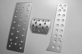 vw passat billet pedals - pedal covers