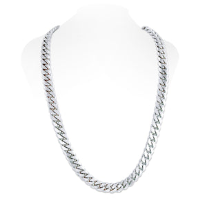 Sterling Silver Miami Cuban Link Chain | 14mm