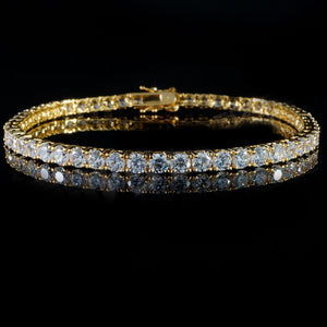 3mm Gold Tennis Bracelet