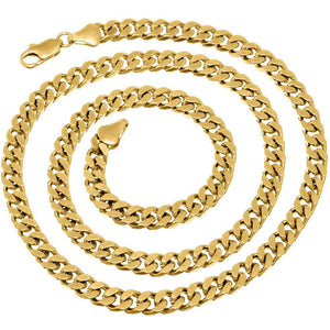 6mm Gold Layered Miami Cuban Link Chain