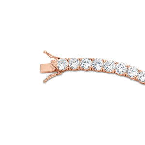6mm Rose Gold Tennis Bracelet