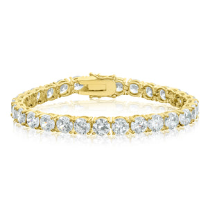 6mm Gold Tennis Bracelet