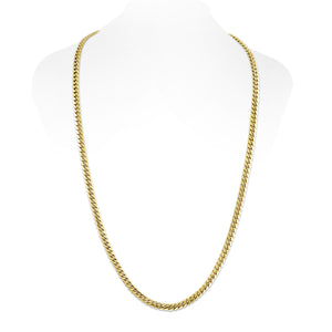 Vermeil Miami Cuban Link Chain With Box Clasp | 6mm