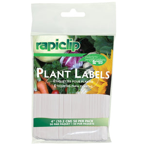 "Lust Plant Labels 4"" 50 pack"