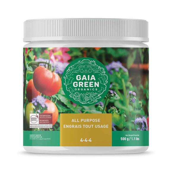 Gaia Green All Purpose Fertilizer 4-4-4 500g