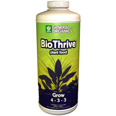 General Organics BioThrive Grow 1 Quart