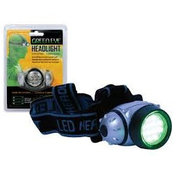 Growers Edge Green LED Headlamp