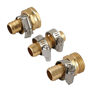 Hose Repair Coupling Solid Brass