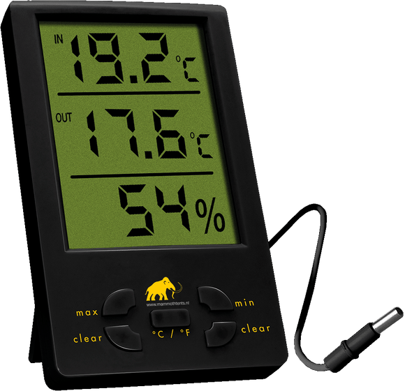 Mammoth Thermo/Hygrometer