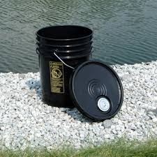 Black Bucket 5 Gallon