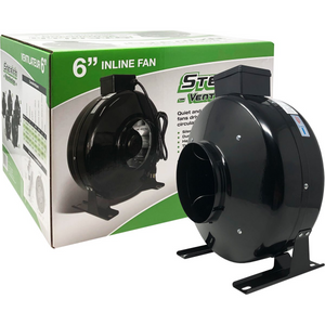 "Stealth Ventilation In-line Fan 6"" 460CFM 120V"