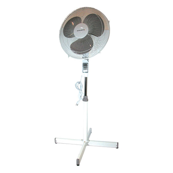 "Wind Devil Stand Fan 16"" 3 Speed"