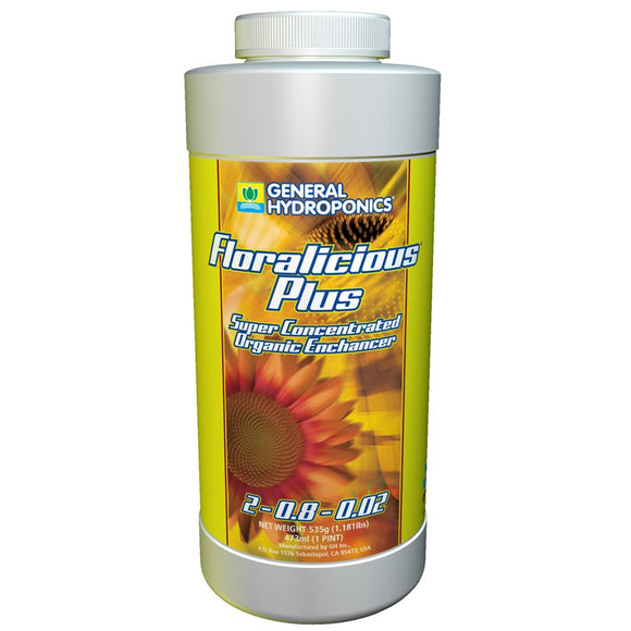 General Hydroponics Floralicious Plus 16 Ounce