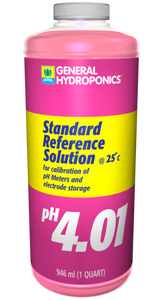 General Hydroponics pH 4.01 Reference Solution 1 Quart