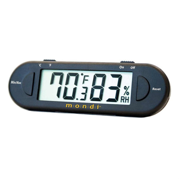 Mondi Mini Greenhouse Thermometer/Hygrometer