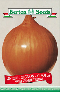 Berton Seeds Onion Sweet Spanish Yellow
