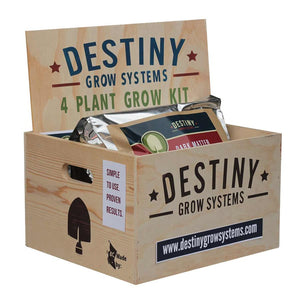 Destiny Home Grow Kit 4 Plant