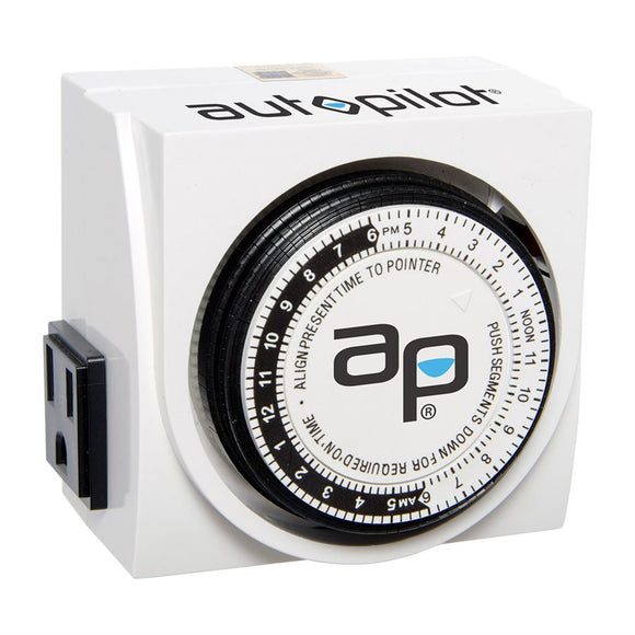 Auto Pilot Dual Outlet Analog Timer