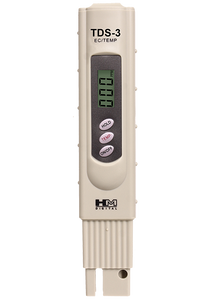 TDS-3: Handheld TDS Meter with Carrying Case