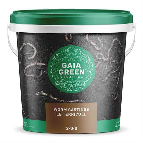 Gaia Green Earthworm Castings 2L