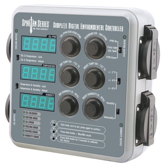 Complete digital environmental controller