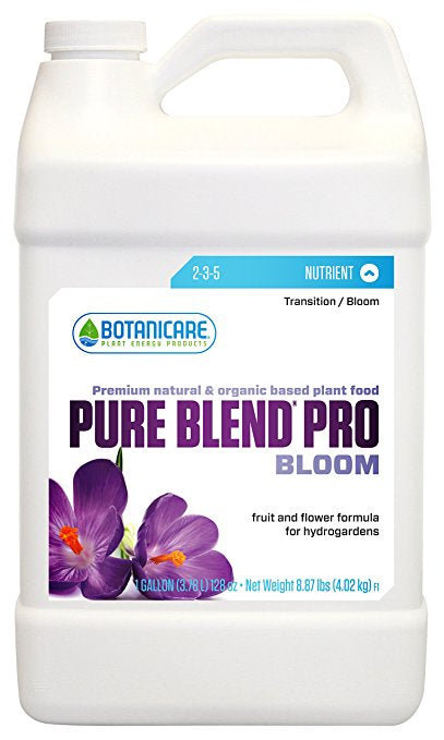 Botanicare Pure Blend Pro Bloom 1 Gallon