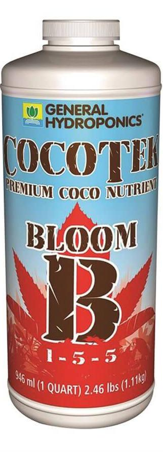 General Hydroponics CocoTek Bloom Part B 1 Quart