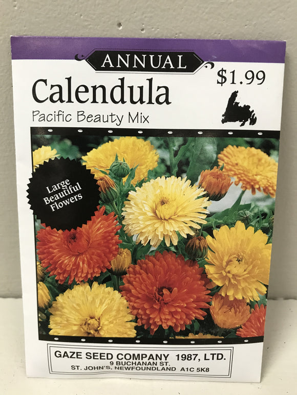 Calendula Pacific Beauty Mix Seeds