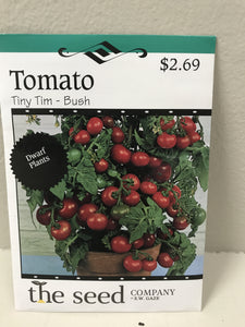 TOMATO TINY TIM BUSH SEEDS