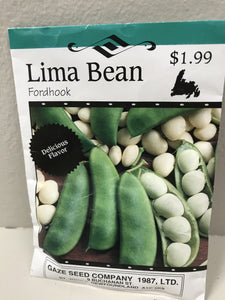 LIMA BEAN FORDHOOK
