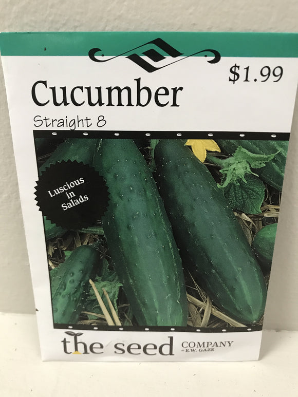 CUCUMBER STRAIGHT 8 SEEDS