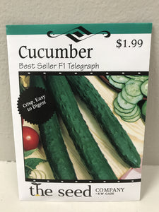 CUCUMBER BEST SELLER F1 TELEGRAPH SEEDS