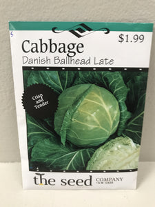 CABBAGE DANISH BALLHEAD LATE SEEDS