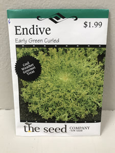 ENDIVE EARLY GREEN CURLED SEEDS