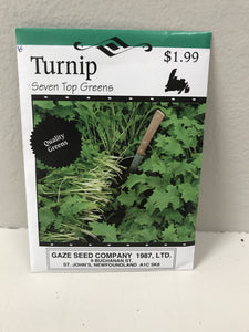 TURNIP SEVEN TOP GREENS SEEDS