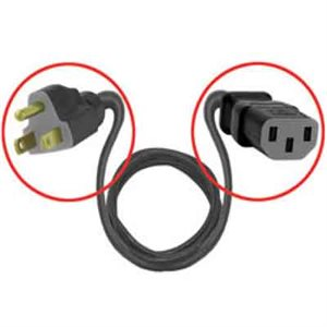 Power Cord 120v  6 ft
