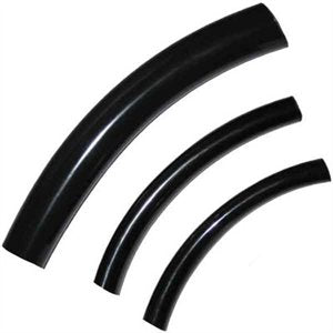 "Tubing Black Viny 1"" 100' by foot"