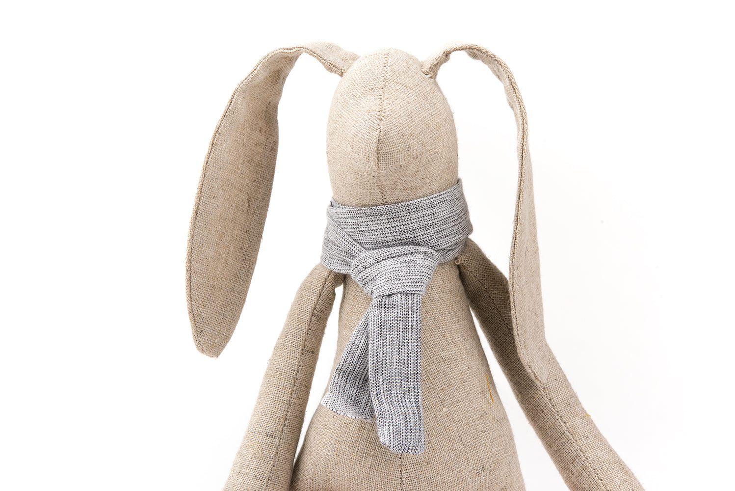 A pair of rabbit dolls Stuffed bunny dolls Plush rabbit doll Linen Handmade dolls Set of 2 dolls Nursery decor Heirloom gift SMALL Rabbits