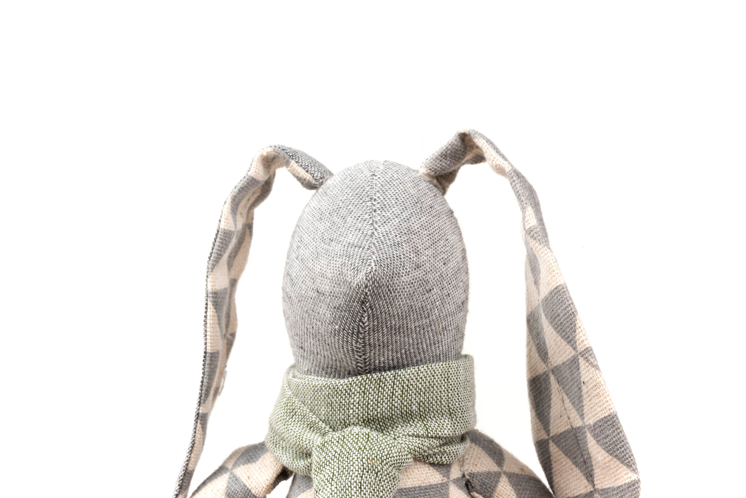 Rabbit handmade doll Stuffed toy Plush rabbit Stuffed animal Cloth doll Linen doll Decorative toy Boy gift Easter basket gift Gender neutral