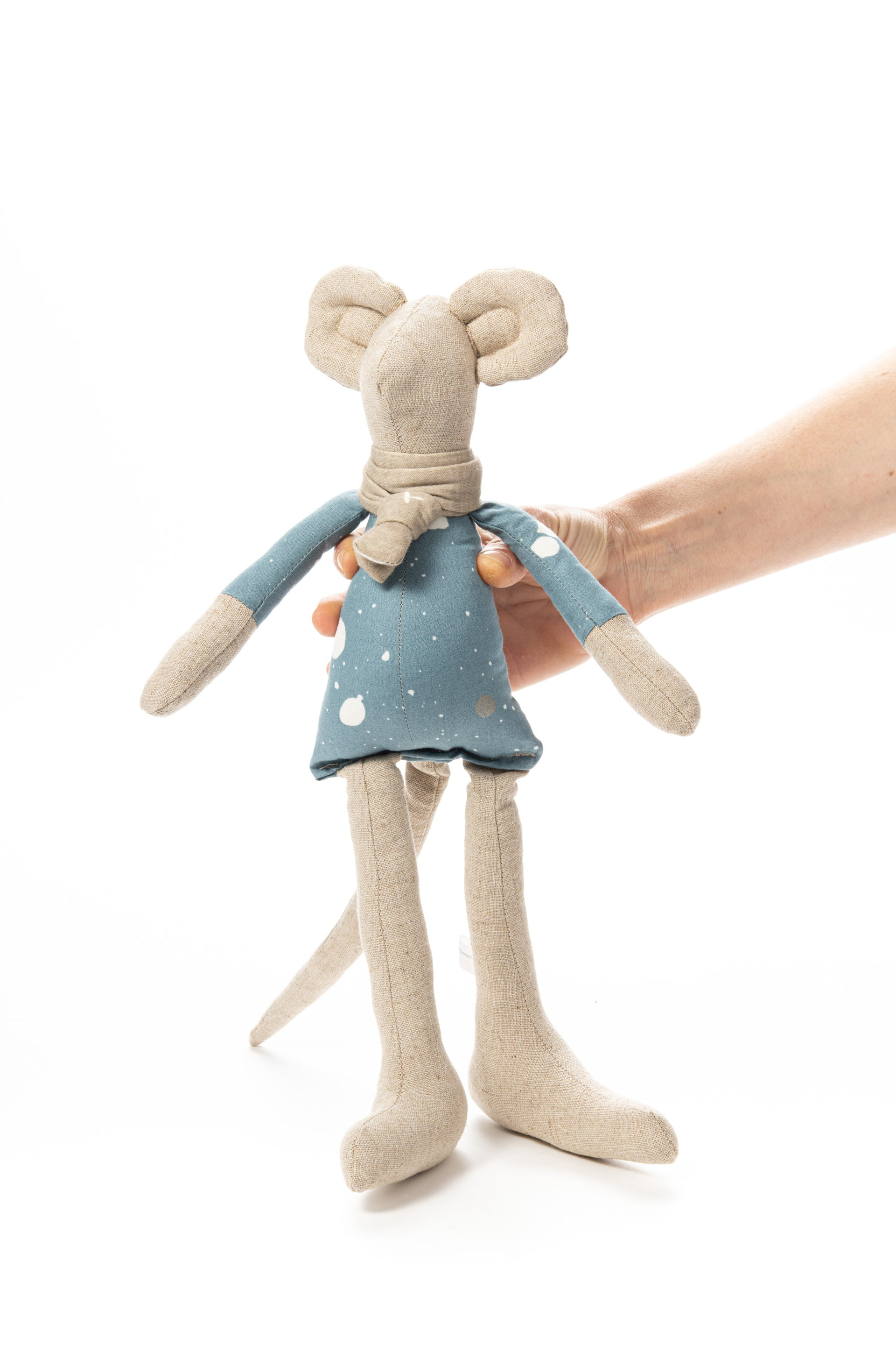 Soft sculpture, Handmade gift, Mouse doll, Doll toy, Stuffed animal toy, Home decor toy, Handmade mouse, Fabric doll, Soft toy, Art doll