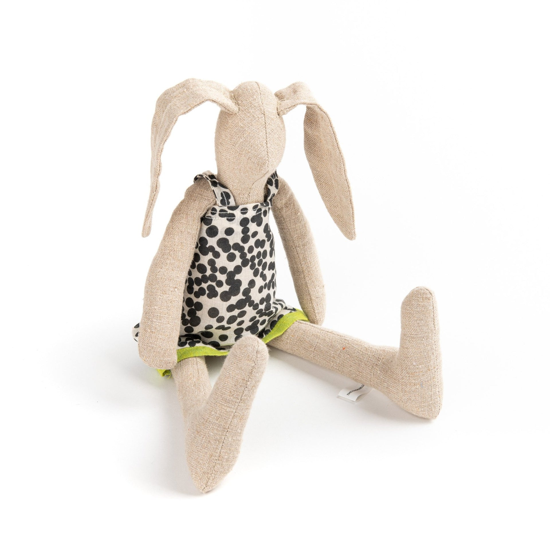 Bunny doll, Eco friendly gift, Baby toddler kids, Home decor toy, Newborn gift idea, Rabbit doll, Fabric doll, Cloth doll, Handmade animal