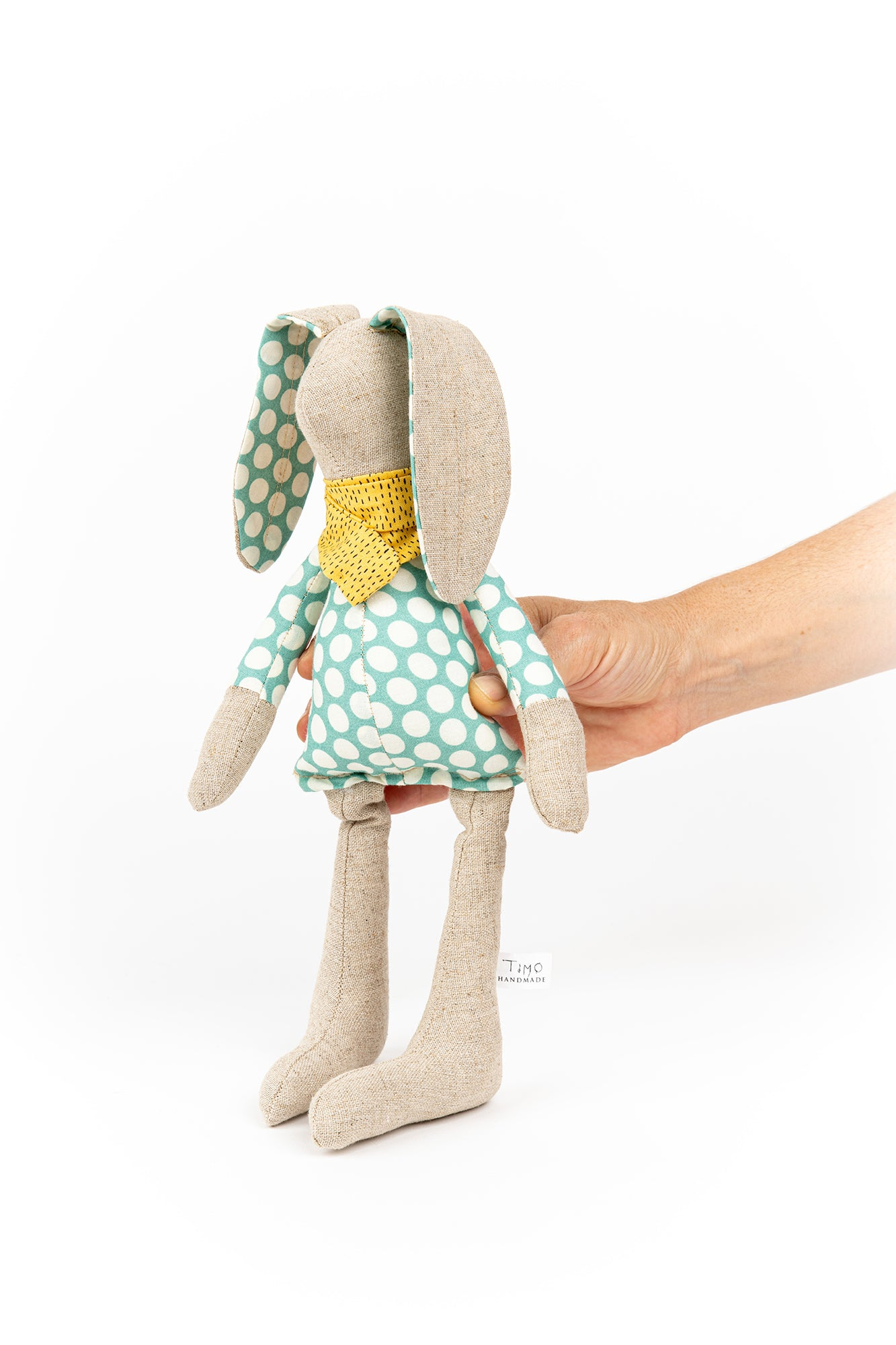 Handmade rabbit doll, Doll toy, Plush bunny, Stuffed animal, Newborns gift idea, Cloth doll, Textile art dolls, Plush toy, Fabric doll, Hare
