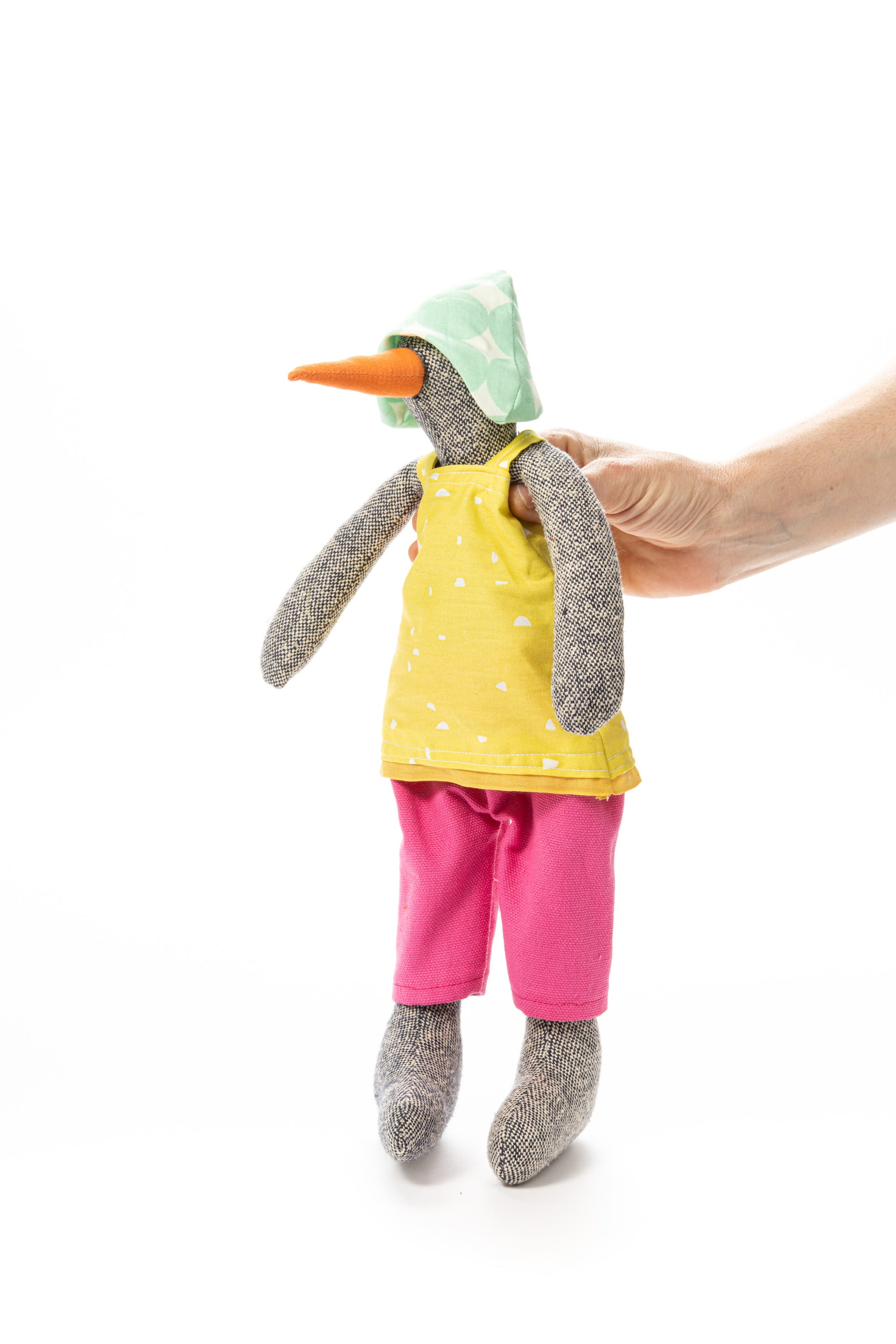 Dolls set for kids, Set of 2 dolls, Twins gift, Baby shower gift , Bird doll, Fabric doll, Handmade doll, Eco friendly gift, Rag dolls, Duck