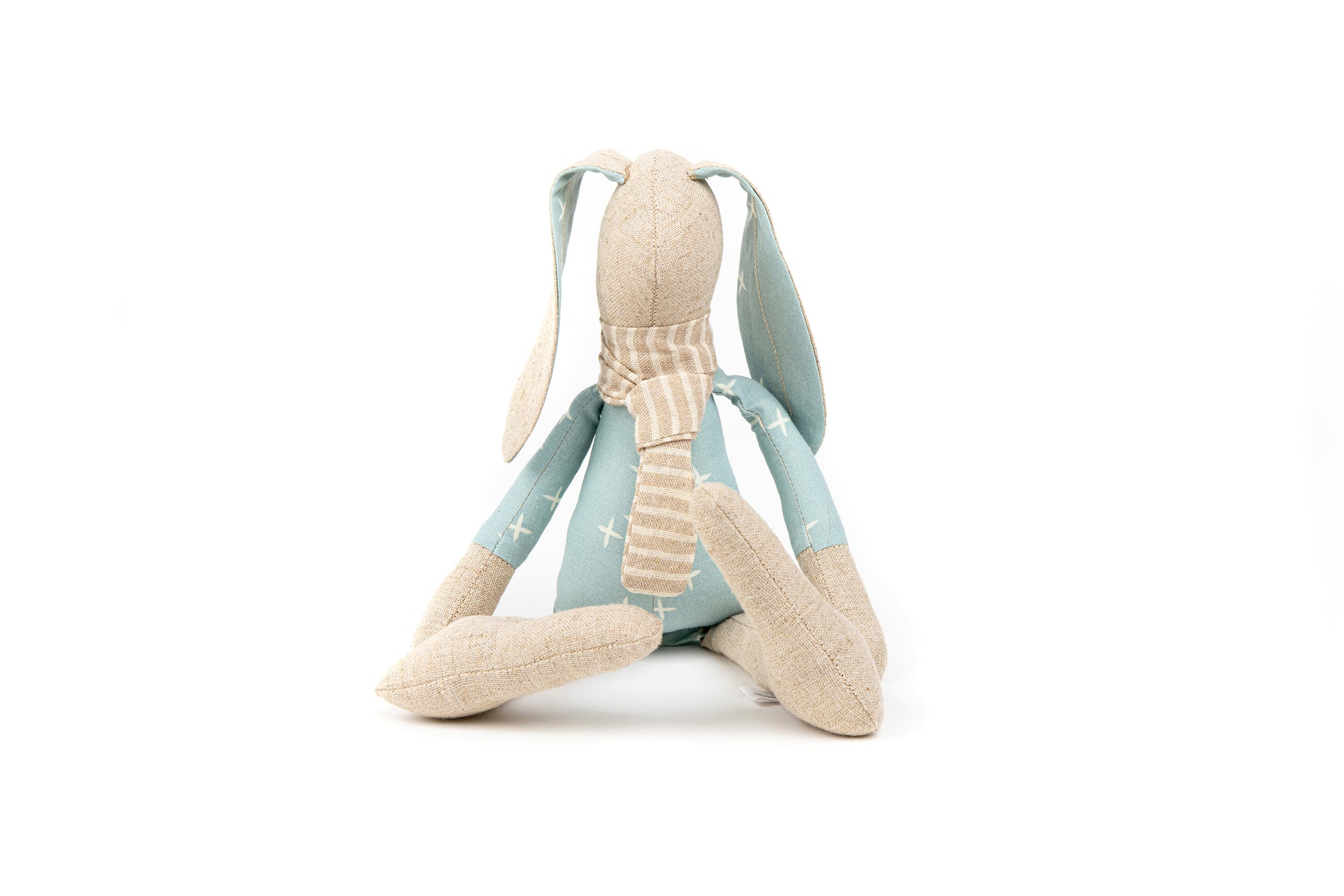 Home decor toy, Handmade bunny, Soft doll, Rabbit doll, Gender neutral gift, Textile doll,Plush toy doll, Ecofriendly toy, Easter Bunny doll