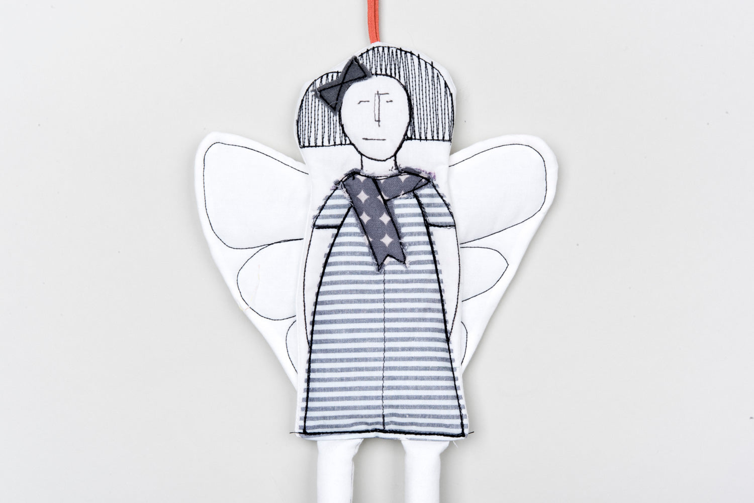 Christmas decoration, Handmade ornament, Home decor doll, Angel doll, Fairy doll,Angelic décor,Hanging angel,Angel wall décor,Guardian Angel