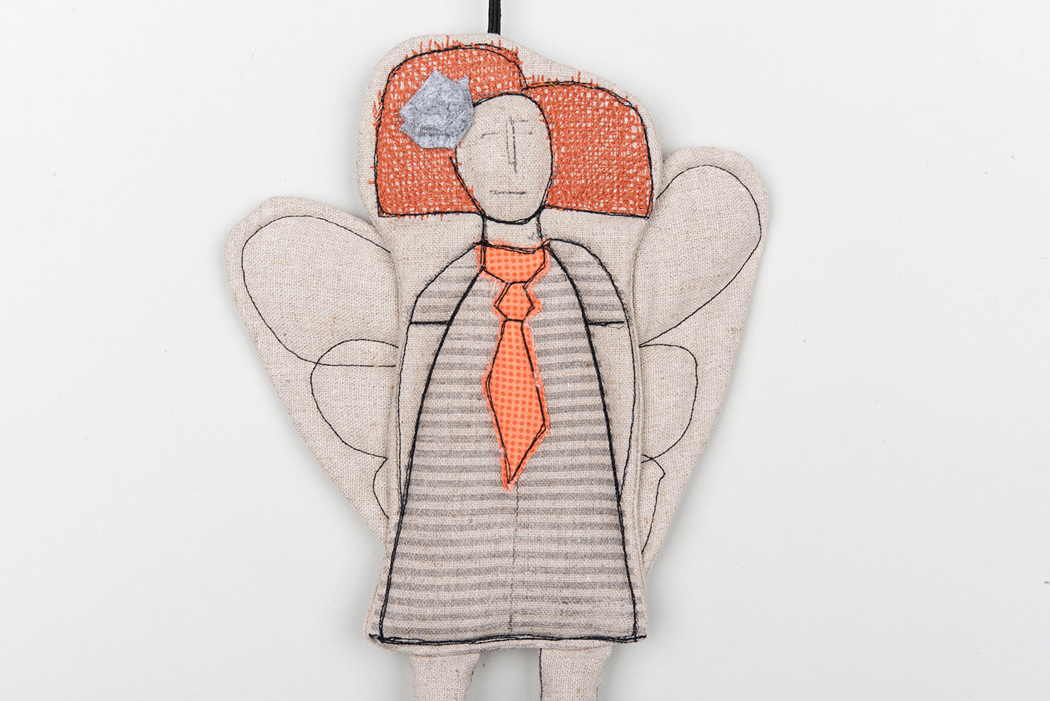 Rustic holiday decor Modern Christmas Fireplace decoration Fairy ornament Doorhanger Angel ornament Hanging decorations Guardian angel