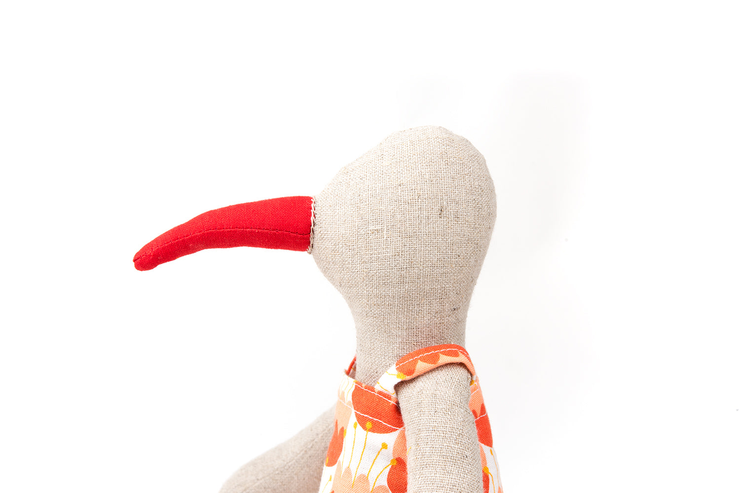 Doll for girl , Girl birthday gift doll, Bird doll, Fabric doll, Handmade doll, Eco friendly gift, Plush doll, Handmade decor doll, Duck