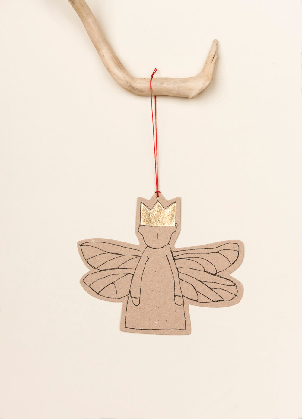 Paper angel ornament , Xmas Angels , Hanging paper doll , Christmas Décor , Tree ornament , Paper fairy , Hanging decoration , Gold foil , Sparkle Ornament , gift tag